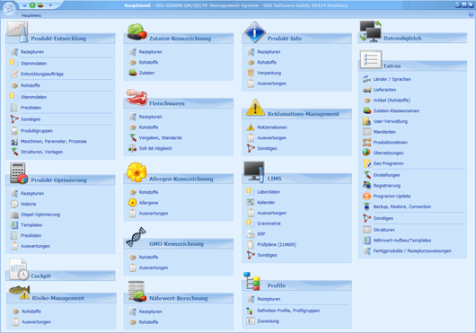GRS Software GmbH Toolbar Icons