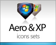 Aero and XP icons sets